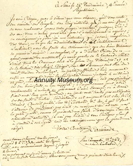 1795 01 26 letter written during the french revolution regarding 1795 01 26 letter written during the french revolution regarding annuities i see citizen by spiritdancerdesigns Choice Image