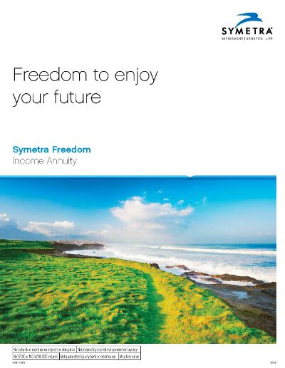 first symetra freedom income brochure