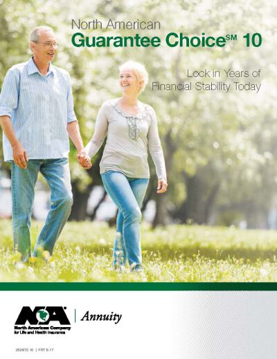 north american guarantee choice 10 annuity brochure