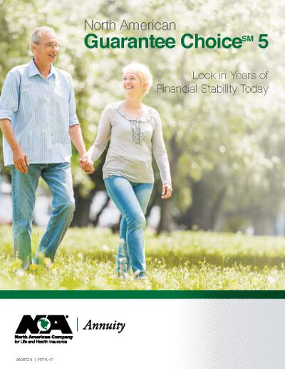 north american guarantee choice 5 annuity brochure