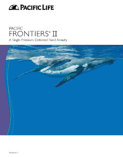 pacific life frontiers ii annuity brochure