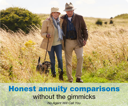 Compare annuity quotes quickly and easily!